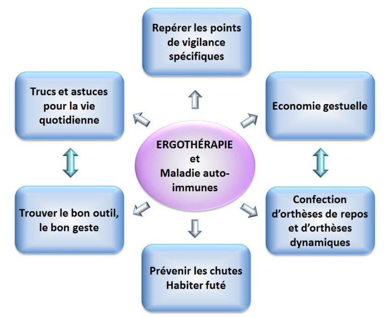 ergotherapie maladie auto-immunes